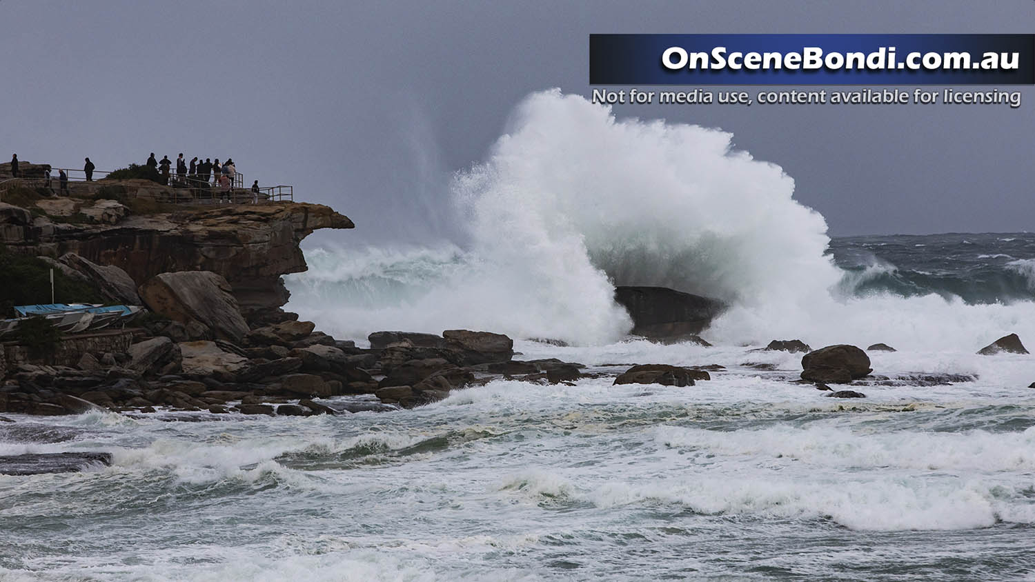 Huge waves impact the east coast of NSW with some daring to take them on at Bondi Beach