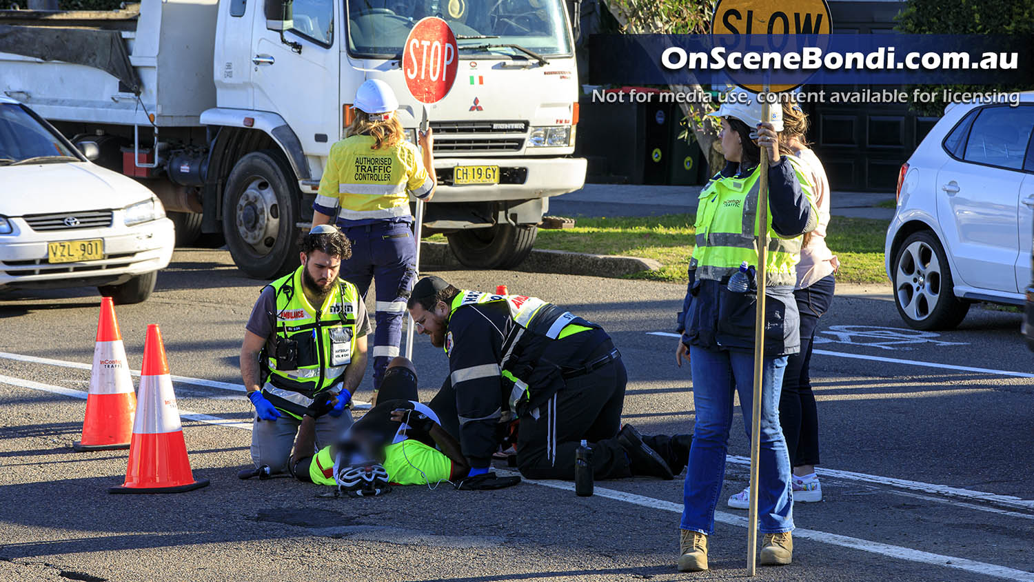 Cyclist hit by truck in Vaucluse