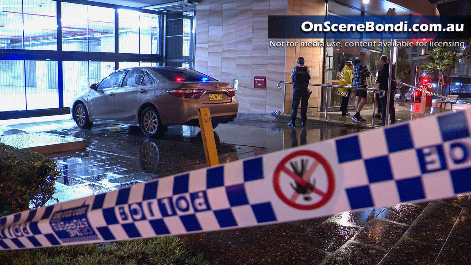 Police officer hit by car in Bondi Junction